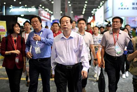 体博会在上海隆重开幕赵勇等出席并观摩