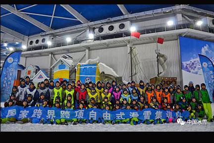 心向冬奥 砥砺前行——自由式滑雪技巧...