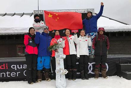 中国运动员首登单板滑雪世青赛大跳台项...