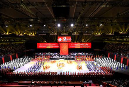第15届世界武术锦标赛在沪开幕 苟仲...