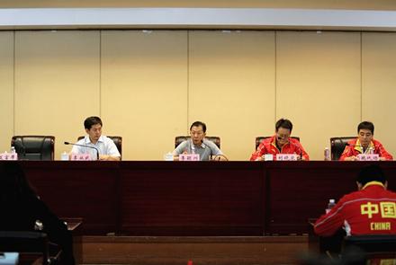 亚洲室内与武道运动会中国代表团在...