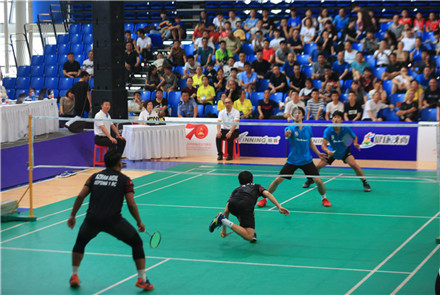 陕西省三原县举办国际羽毛球团体邀...
