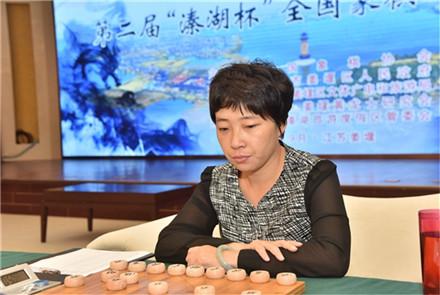 全国象棋女子名人赛党国蕾迎来绽放...