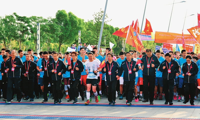 2017大同国际半程马拉松赛成功...
