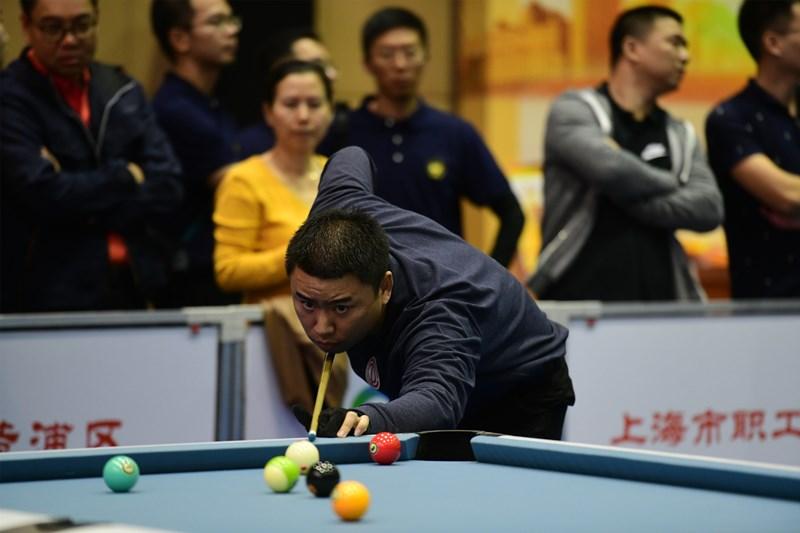 上海市职工台球赛深耕五年成为品牌赛事