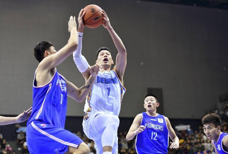 男篮客场胜天津林书豪首秀贡献25分