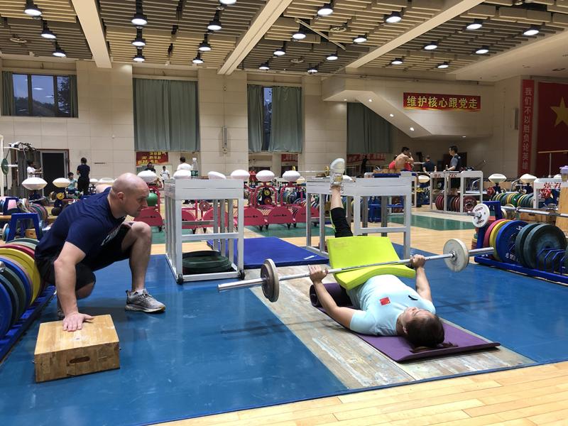 体能康复团队:五洲四海聚力中国举重